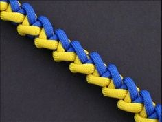 How to make the Fox Tail Bar (Paracord) Bracelet by TIAT - YouTube