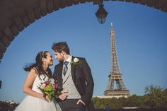 Paris wedding shoot | Image by Mateos Wedding Photography