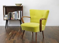 RETRO 50s 60s ARMCHAIR COCKTAIL CLUB CHAIR VINTAGE MID CENTURY MODERN CHAIRS