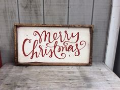 Christmas Signs now in The Shop!!!