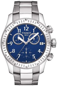 Tissot Watch V8 #bezel-fixed #bracelet-strap-steel #brand-tissot #buckle-type-deployment #case-depth-11-05mm #case-material-steel #case-width-42-5mm #chronograph-yes #date-yes #delivery-timescale-7-10-days #dial-colour-blue #gender-mens #luxury #movement-quartz-battery #official-stockist-for-tissot-watches #packaging-tissot-watch-packaging #sub-seconds-yes #subcat-t-sport #supplier-model-no-t0394171104703 #warranty-tissot-official-2-year-guarantee #water-resistant-100m