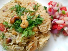 Goan Prawns Pulao, How to make Goan Prawns Pulao Recipe   Prawns Recipes