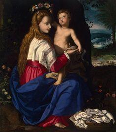 Alessandro Allori: María y el Niño.