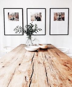 49 Awesome Natural Farmhouse Dining Room Decor Ideas - Tuscan décor is inspired by relationships between people, nature, time and color. In the dining room, Tuscan décor brings about the essence of family . Casual Dining Rooms, Dining Room Wall Decor, Kitchen Decor, Kitchen Wood, Decor Room, Country Kitchen, Country Cooking, Room Decorations, Kitchen Dining