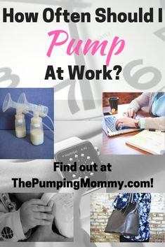 Wondering how often you should be pumping at work? Find out at ThePumpingMommy.com! ***Plus see a full sample Pumping Schedule for both an 8 and 12-hour shift!
