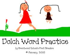 """The Dolch Word List is a list of commonly used English words that was originally compiled by Edward William Dolch, PhD and published in his 1948 book, """"Problems in Reading"""". Edward Dolch compiled this list based on children's books of the period, and selected 220 """"service words"""" which children need to recognize in order to achieve reading fluency. Dolch excluded nouns from his main list, but did compile a separate 95-word list of nouns."""