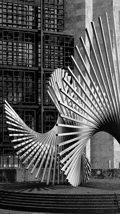 Mainz Germany steel sculpture | In praise of shadows and light | Flickr - Photo Sharing!