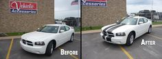 What a difference 2 strips can do! Seat Covers, Car Accessories, Vehicles, Auto Accessories, Car, Vehicle, Tools