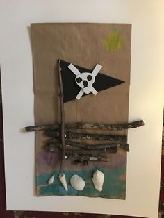 Pirate Crafts, Nature Crafts, Pirates, Bobby Pins, Hair Accessories, Kids, Young Children, Boys, Hairpin
