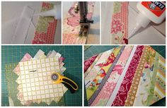 Sew Much Like Mom: String Quilt Block: A Foundation Piecing Tutorial
