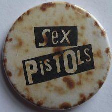 SEX PISTOLS Vtg 70`s/80`s Button Badge Pin(25mm-1