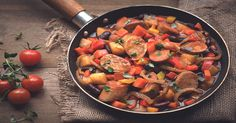 Try this Spicy Quorn Sausage & Bean One-Pot Stew recipe, made with Meat Free Best of British Sausages. Click to get more tasty meal ideas from Quorn.