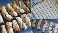 Recept Twister tvarohové tyčinky Party Tops, Diy Bathroom Decor, Turkey, Pudding, Treats, Fish, Chicken, Sweet, Silvester Party