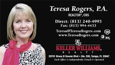 Teresa Rogers, P.A., CRS with Keller Williams New Tampa
