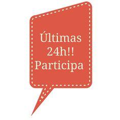 Last call to participe!! Ultimas 24h para participar en el sorteo!! no te quedes sin participar! https://angelagcabrera.blogspot.com.es/ Ángela Cabrera