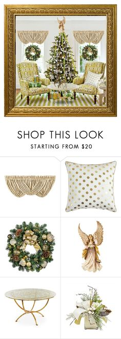 """""""Christmas In July"""" by chileez ❤ liked on Polyvore featuring interior, interiors, interior design, home, home decor, interior decorating, J. Queen New York, Improvements, Jay Strongwater and Niermann Weeks"""