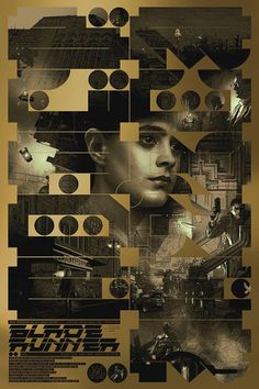 Movie Posters, Blade Runner (1982) Source:...