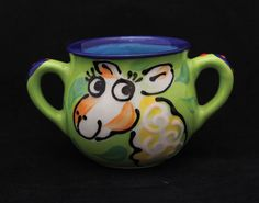 For little alpaca lovers! Handmade in New Zealand for The Alpaca Company, these alpaca cups are dishwasher and microwave safe.