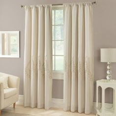 Laurel Window Curtain Panel - BedBathandBeyond.com