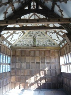 Little Moreton Hall, also known as Old Moreton Hall, is a moated half-timbered manor house 4 miles southwest of Congleton in Cheshire, England.