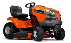 Husqvarna V-twin Hydrostatic Garden Tractor with Mulching Capability (Kit Sold Separately) at Lowe's. Engineered for added durability, comfort, style and precision, our LS Series yard tractors all feature fabricated or reinforced cutting decks, heavy-duty Best Lawn Mower, Best Riding Lawn Mower, Riding Mower, Best Lawn Tractor, Lawn Mower Tractor, Pedal Tractor, Mower Shop, Lawn Mower Accessories, Yard Tractors