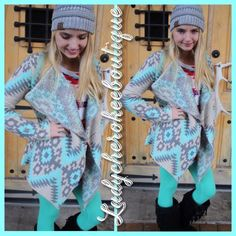 Sale going on now @ http://instagram.com/ladycherokeeboutique … these GORGEOUS cardigans and more available!