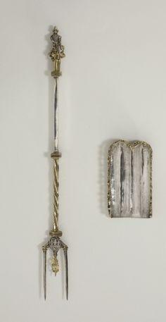 Fork with spoon scoop - 1480. Produced in Lüneburg. © Foto: Kunstgewerbemuseum