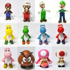 Super Mario Bros 3.5 5 INCH Figure New Toy CHOOSE ONE FROM 12-in Action & Toy Figures from Toys & Hobbies on Aliexpress.com