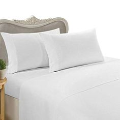Egyptian Bedding Rayon from BAMBOO Sheet Set - California King Size Ivory 1200 Thread Count Cotton Sheet Set (Deep Pocket) >>> Click image for more details. (This is an affiliate link) Twin Xl Sheet Sets, King Sheet Sets, Cotton Sheet Sets, White Duvet Covers, Bed Duvet Covers, Duvet Cover Sets, White Bed Sheets, King Size Bed Sheets, Twin Xl Bedding