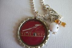 Seminole Bottlecap Necklace