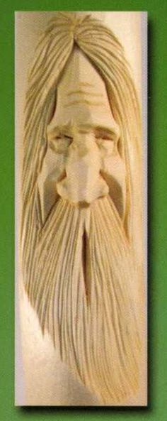 Wood spirit carving tutorial very pic heavy and