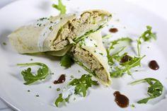 Calzoncino de pollo de corral #tapas #restaurante #Madrid #cocinaitaliana #pollo