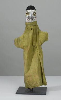 Paul Klee (Swiss-German 1879-1940), Untitled hand puppet (Russian Peasant), 36 cm, 1919. Collection Zentrum Paul Klee, Bern.