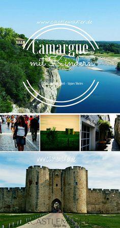Südfrankreich, Camargue mit Kindern entdecken. Ausflüge nach Aigues Mortes und Pont Du Gard, Glamping im Yelloh Village in einem Bungalow. Perfekt für Urlaub mit Kindern - mehr Info auf meinem Blog.