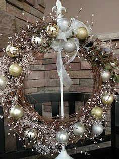 grapevine wreath tutorial christmas time diy paper christmas tree diy christmas decorations easy - Grapevine Garland Christmas Decorations