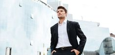 3 Secrets To Become A More Charismatic Man – azurorepublic How To Be Likeable, Mens Fashion Suits, Attractive Men, Men Looks, Hot Men, Role Models, The Secret, How To Become, Templates