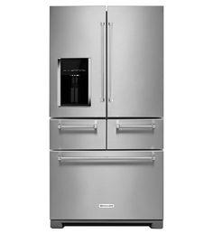 25.8 Cu. Ft. 36-Inch Multi-Door Freestanding Refrigerator, D:36, W:36, H:70, R:18 cu ft