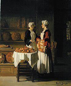 Joseph Bail - Bread sale