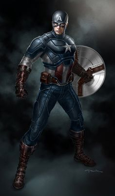 The Avengers- Captain America by andyparkart on deviantART