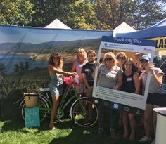 Fun times #explorebcday #instameetpenticton - thanks for the great turn out #Penticton - now let's eat some cake!