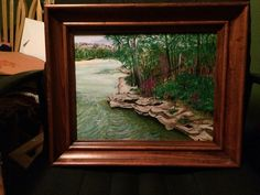 Walbash river  Indiana By Teresa Beard-Lowell