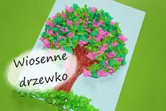 Wiosenne drzewko z efektem spring tree with effect Art Room Doors, Diy And Crafts, Crafts For Kids, Spring Tree, Toddler Art, Kids And Parenting, Garden Art, Special Day, Techno