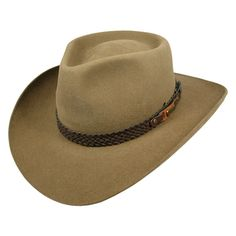 Hats and Caps - Village Hat Shop - Best Selection Online Western Hats, Western Cowboy, Western Wear, Western Style, Leather Hats, Braided Leather, Akubra Hats, Man From Snowy River, Chapeau Cowboy