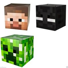 Valentine's Box Minecraft Dog | Kids Stuff | Pinterest ...Steve Minecraft Costume Party City