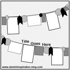scrapbook layout ideas