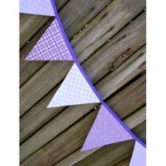 Purple bunting!