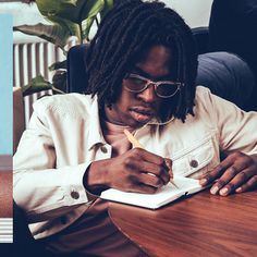 A profile in modernity // Add effortless, contemporary flair to any look with the Transparent Clubmaster // @DanielCaesar shows how in  by @HYPEBEAST