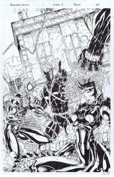 variant cover to Backlash/Spider-Man by Brett Booth and Al Vey Comic Book Pages, Comic Book Artists, Comic Artist, Comic Books Art, Geof Darrow, Brett Booth, Comic Conventions, Spider Verse, Image Comics