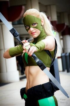 Artemis Crock @ Megacon 2012 // this cosplay is amazing. I love Artemis before she turns into a villain-ess. Even then she is pretty awesome.
