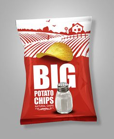 Big Chips PackagingClient : Egypt Food
